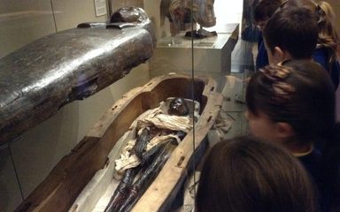 Mummies Unwrapped at The Hancock museum!