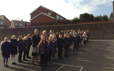Eclipse at Blaydon West Primary School!