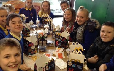 Year 6 McDonald's After SATs Treat