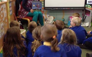 This weeks mystery reader is ……