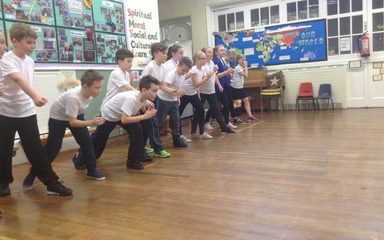 Athletic coaching in Year 6