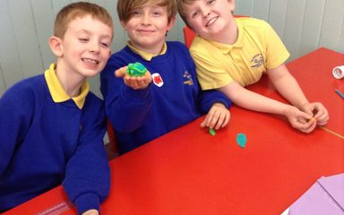 Year 3 investigate the Earth's structure..