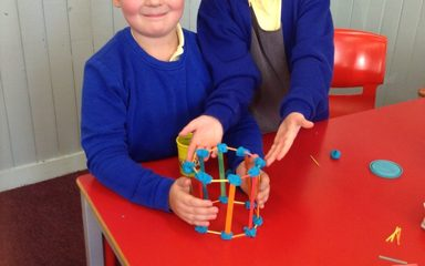 Constructing 3D shapes in Year 3