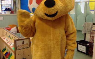 Toddler's Children in Need Party
