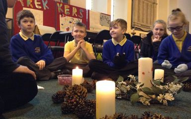 Christmas Experience at St Cuthberts.