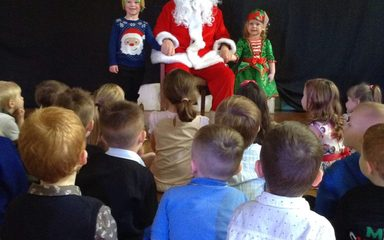Christmas party fun in the Early Years