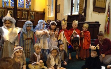 Christmas Carol service at St Cuthberts