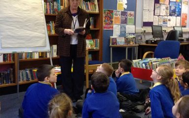 Poetry fun at Blaydon Library!