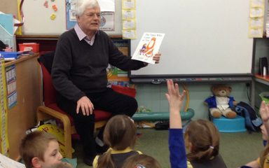The first mystery reader of the year was ….
