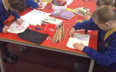 We have some fabulous artists at Blaydon West!