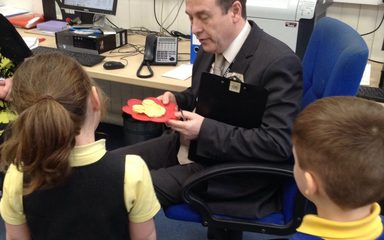 The pancake shop in Reception