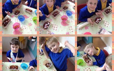 A sweet Easter treat at cookery club
