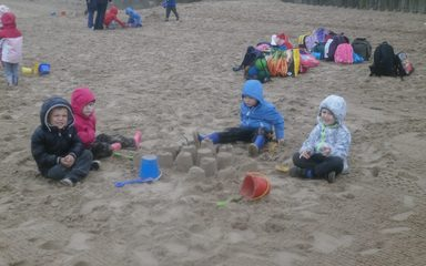 Fun at Tynemouth Beach!