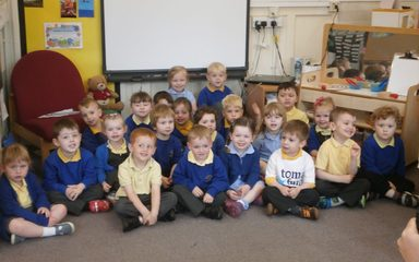 Nursery sponsored walk in aid of toma fund.