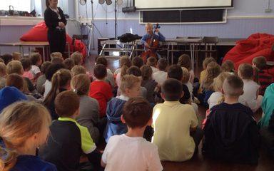 Amazing musical talent at Blaydon West!