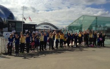 A great day of learning on the Quayside!