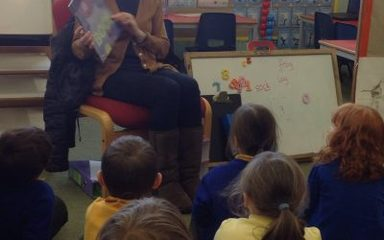 And today's mystery reader was …..