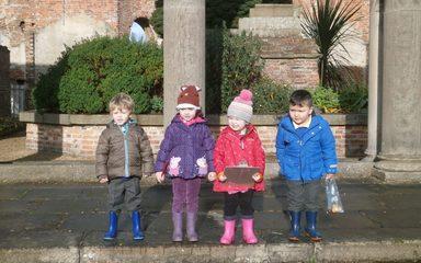 Autumn fun at Gibside!