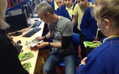 Meeting a famous author: Dan Smith