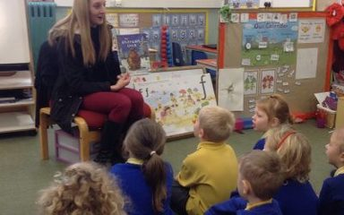 The first mystery reader of this half term…