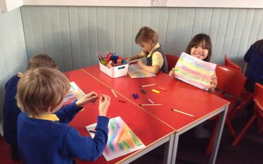 Firework fun at Art Club!