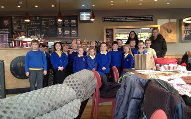Hot Chocolate at Costa!