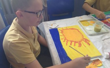 Year 6 Art club!