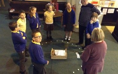 Christmas Experience at St Cuthbert's Church.