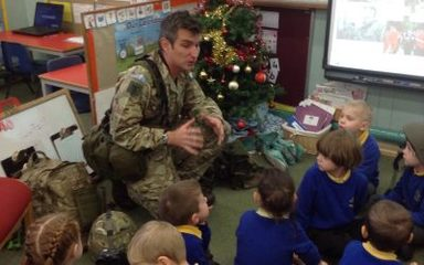 Major Paul Whillis met Reception today