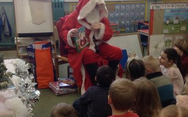 A very special mystery reader today