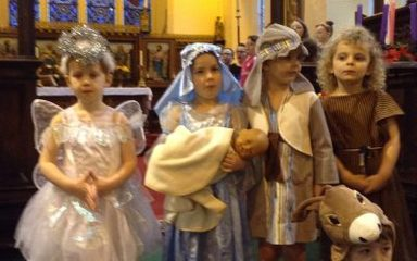 Carol service at St Cuthbert's church