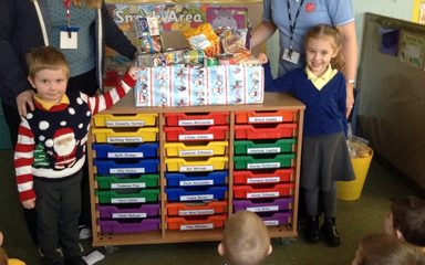 Reception's reverse advent calendar