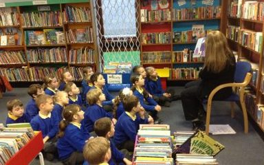 Year 2 Visit to Blaydon Library