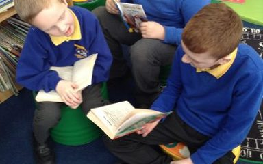 Sharing Stories in Year 4