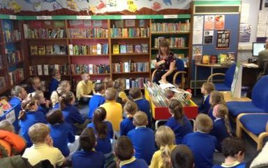Year 3 and 4 love visiting Blaydon Library!