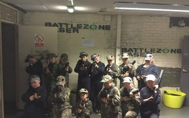 Year 6 end of year trip- Battlezone Laser!