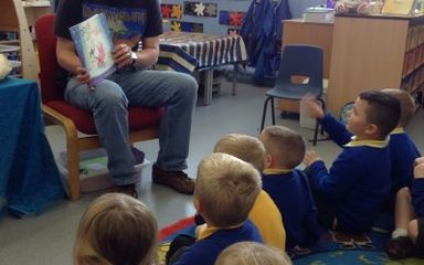 The first mystery reader of the year was …