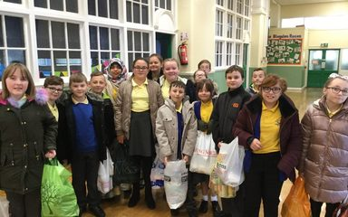 A Visit to the Food Bank