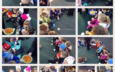 EYFS bonfire party fun