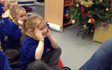 A Christmas mystery reader