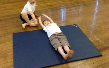 Pencil rolls, straddle rolls and bunk bed balances