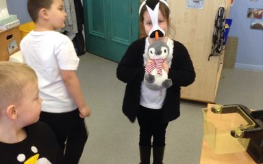 Reception celebrate Penguin Day