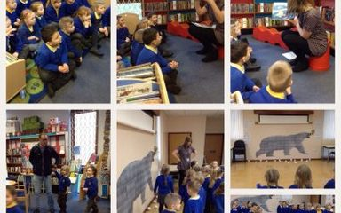 Hunting for polar bears in Blaydon Library