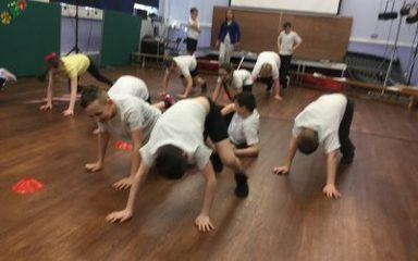 Fitness Coaching in year 6