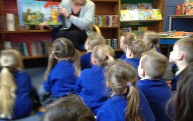 Bear fun at Blaydon Library