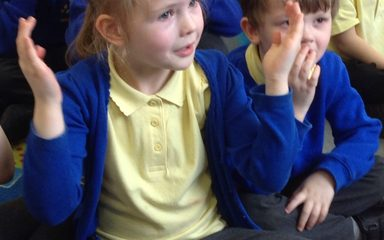 A whiffy story this afternoon in Reception
