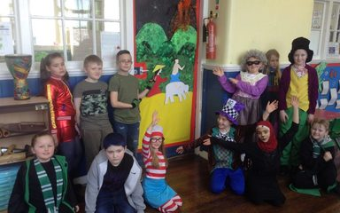 World Book Day Door