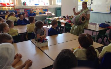 Special Visitor in Year 4/5