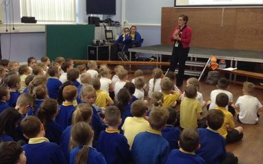 School council charity event
