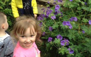Nursery visit Cherryburn